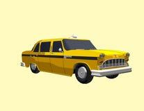 Gelbes Fahrerhaus Lizenzfreie Stockbilder