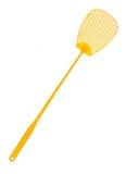 Gelbes flyswatter Lizenzfreie Stockfotografie