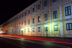 Gelbes Gebäude Stockfotografie