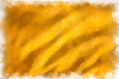 Gelbes Gewebe, Aquarell Lizenzfreie Stockfotos