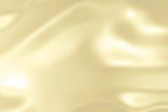 Gelbes Goldgewebesatinhintergrund Stockbilder