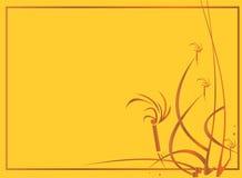 Gelbes Goldhintergrund Stockfoto