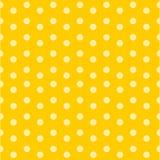 Gelbes Goldhintergrund-Tupfenmuster, Illustration, Stockbild