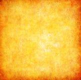 Gelbes grunge strukturierter abstrakter Hintergrund Stockbilder