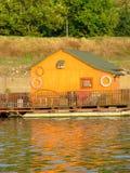 Gelbes Häuschen Stockfoto