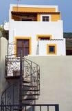 Gelbes Haus Stockbilder