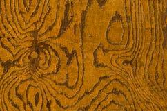 Gelbes Holz der Weinlese Lizenzfreie Stockfotos