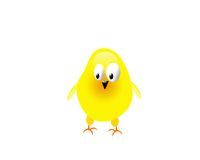 Gelbes Huhn Stockfoto