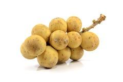 Gelbes langes kong thailändische Frucht Stockbild