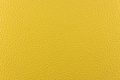 Gelbes Leder Stockfoto