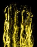 Gelbes Licht-Kunst Lizenzfreies Stockfoto