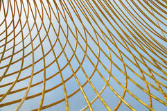 Gelbes Metall Rod Abstract Lizenzfreie Stockfotografie