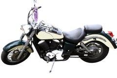 Gelbes Motorrad Stockbild