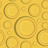 Gelbes nahtloses Muster Lizenzfreie Stockfotos