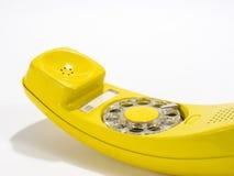 Gelbes phone2 Stockfotografie