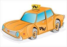 gelbes Rollenfahrerhaus lizenzfreie abbildung