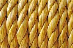 Gelbes Seil Stockbild