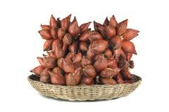 Gelbes sentol, Mangostanfrucht, Rambutan Lizenzfreies Stockfoto