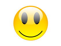 Gelbes smilie Lizenzfreie Stockfotos