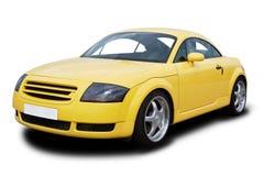 Gelbes Sport-Auto Lizenzfreies Stockbild