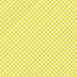Gelbes Tabellentuch Lizenzfreies Stockbild
