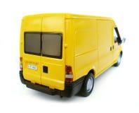 Gelbes vorbildliches Auto - Van. Liebhaberei, Ansammlung lizenzfreies stockfoto