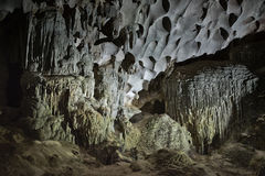 Gelbmuster Thien Cung Cave Heavenly Palace Cave Lizenzfreies Stockfoto
