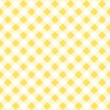 Gelbmustertischdecken stilvoll ein Illustrationsdesign Geometrische traditionelle Verzierung für Modegewebe, Stoff, Hintergrund vektor abbildung