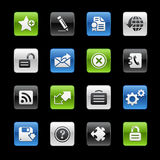 gelbox互联网加上系列选址万维网 库存照片