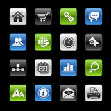 gelbox互联网系列站点万维网 免版税库存照片