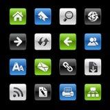 gelbox定位系列万维网 免版税库存图片