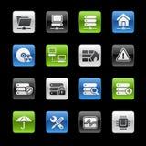 gelbox sieci serii serwer ilustracji