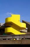 Gelbtreppenhaus London des konkreten Gebäudes Stockbild