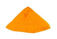Gelbwurzcurry-pulver Lizenzfreies Stockfoto