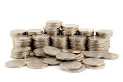 Geld - 20 Pence van Stukken 3 Stock Afbeeldingen