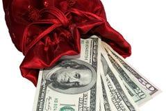 Geld als das beste Geschenk Stockfotografie