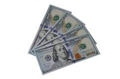 Geld Amerikanische Dollar Lizenzfreies Stockbild