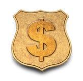 Geld-Ausweis Lizenzfreie Stockbilder