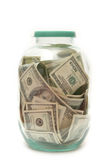 Geld in bank Royalty-vrije Stock Afbeelding