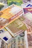Geld, Bankbiljet, Bill Background stock foto