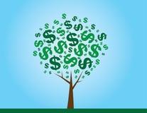 Geld-Baum lizenzfreie abbildung