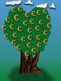 Geld-Baum Lizenzfreie Stockbilder