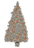 Geld-Baum Stockfotografie