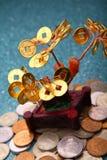 Geld-Baum Feng Shui Symbol Studio Quality Stockbild