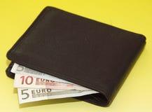 geld-beurs Stock Foto