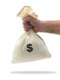 Geld-Beutel Stockfotografie