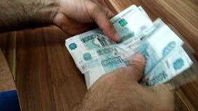 Geld Billds bargeld Geschäft - Live stock footage