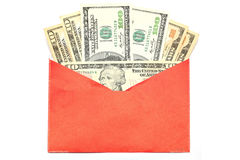 Geld-Chinese-Umschlag Stockbild