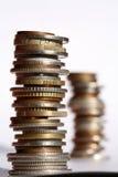 Geld, das in den Abstand verbläßt Lizenzfreie Stockfotos