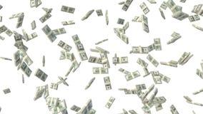 Geld dat neer valt stock illustratie